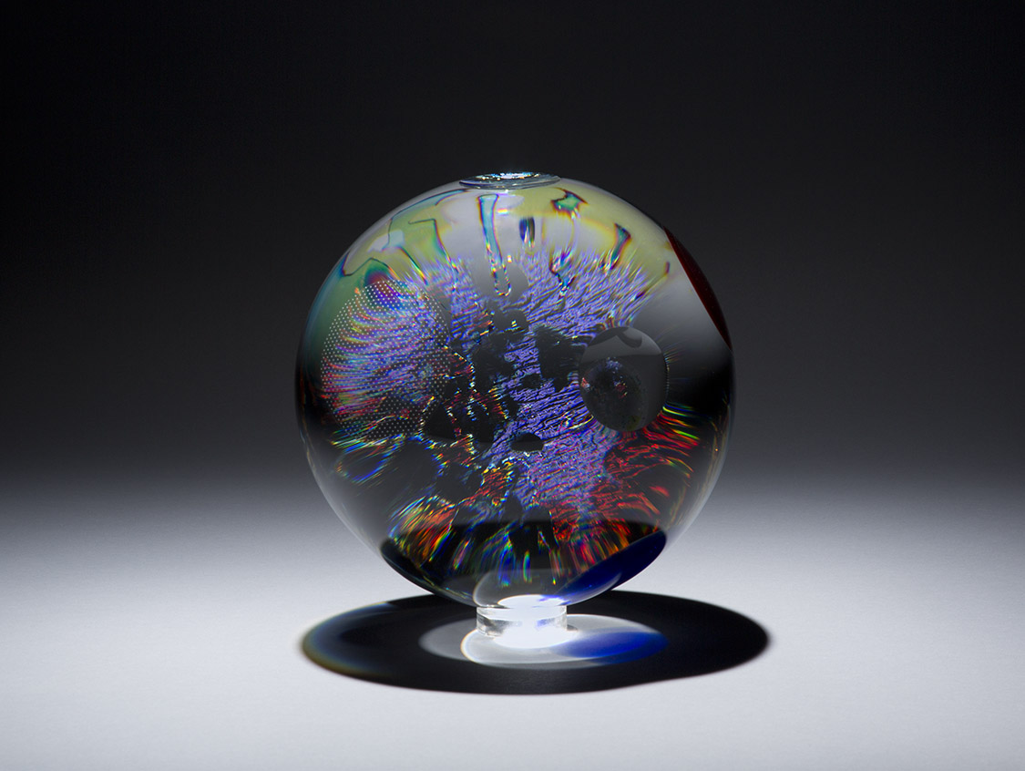 Huchthausen , David, U.S.A. Altair IV Contemporary Fine Art Glass