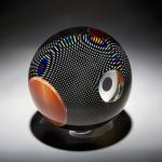 huchthausen-Reverse Polarity Contemporary Fine Art Glass