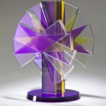 Sidney Hutter Shifting Transmission #5 Contemporary Fine Art Glass