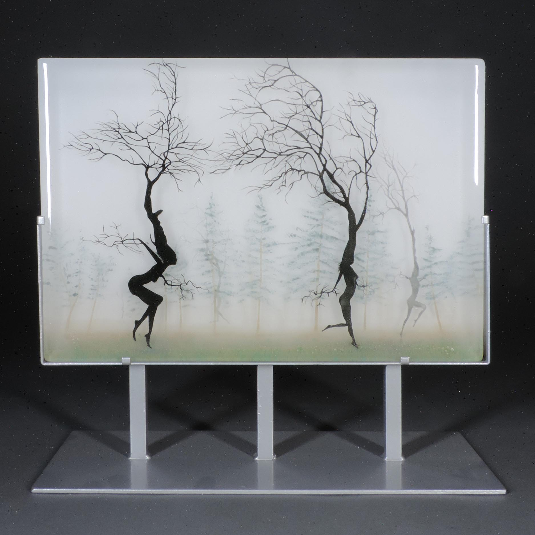 Paul Messink Dancers Mist Habatat Galleries Contemporary Fine Art