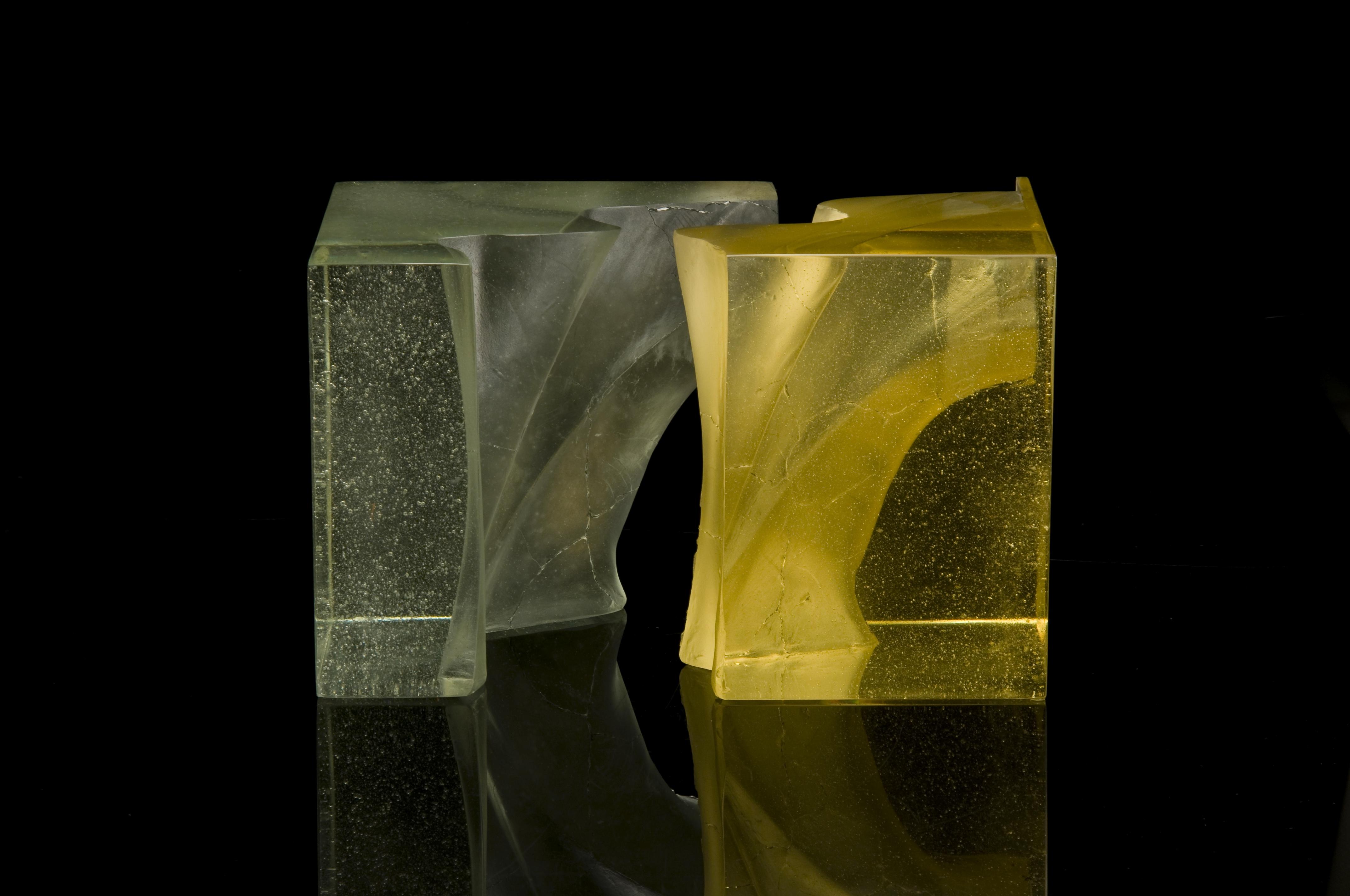 Yellow Cut Cube - Summer - Four Seasons Series