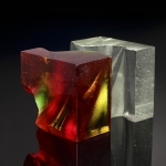 JB Wood Red White Cube 1