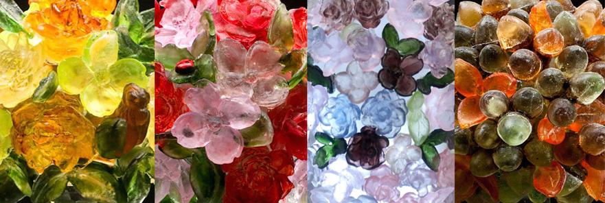 Tim Tate at Habtatat Galleries Color Samples Glass