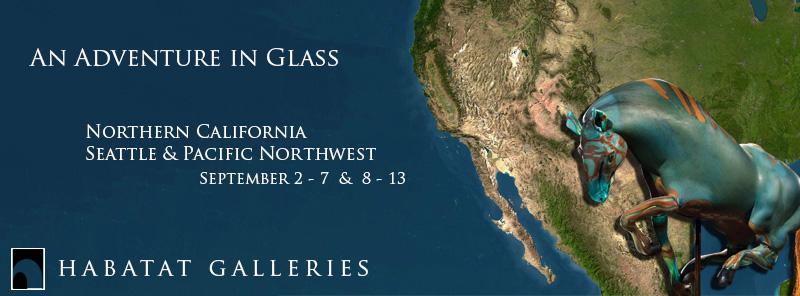 Glass Tour 2014 Habatat Galleries
