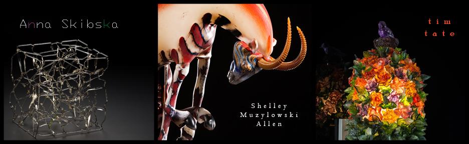 Shelley Muzylowski Allen Anna Skibska and Tim Tate Habatat Galleries October 2014