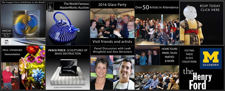 44th Glass International May 5-6-7- 2016 Habatat Galleries