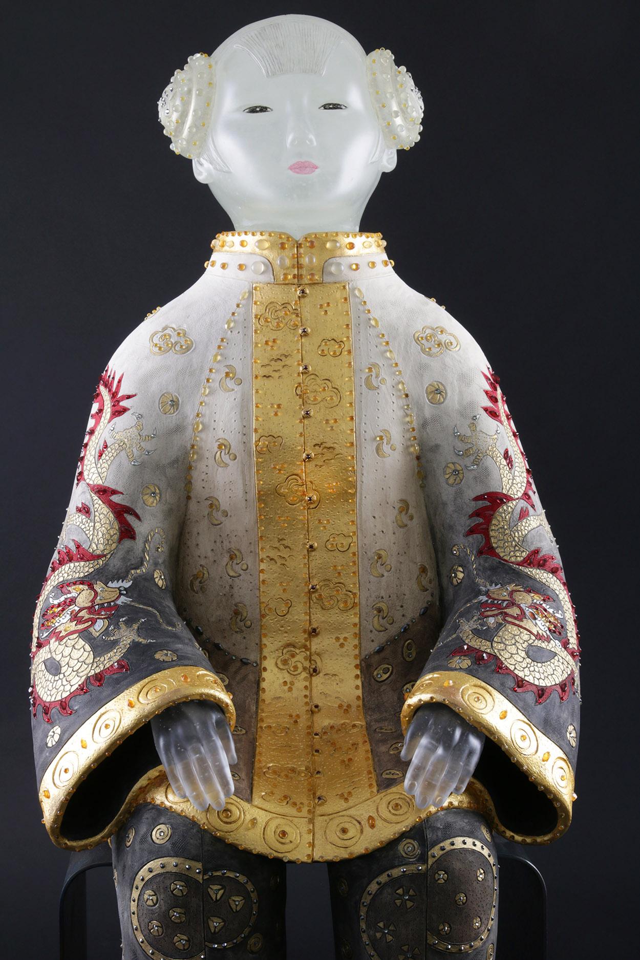 Vivian Wang Glass Sculpture