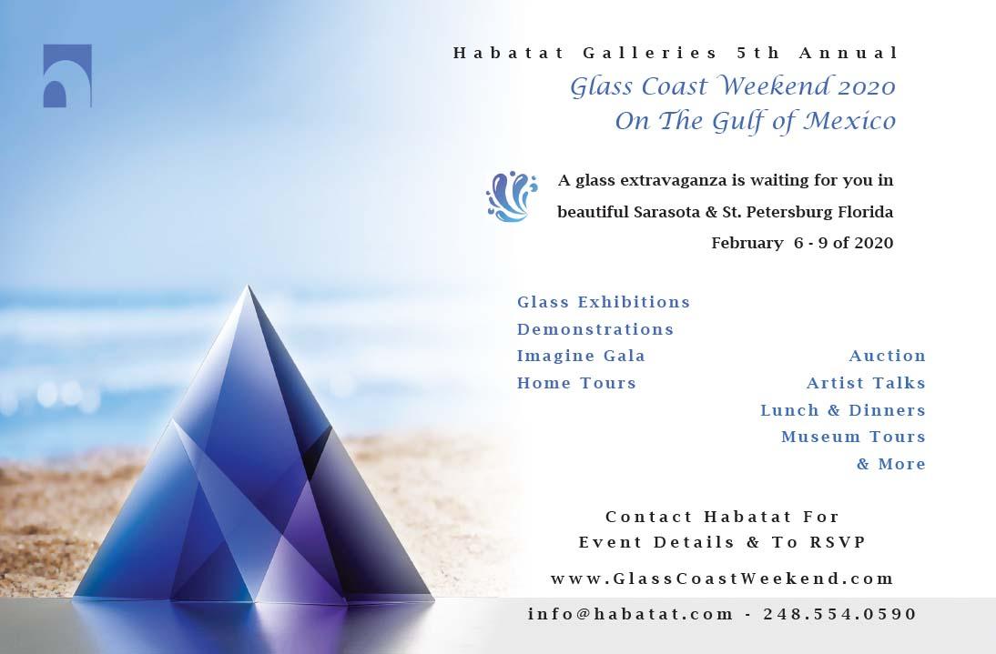 Sarasota St Petersburg Habatat Glass Coast Weekend