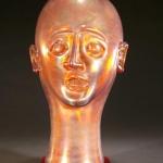 Amber Iridescent Bust