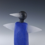 Anonymous Figure IV Contemporary Fine Art Glass