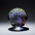 Huchthausen , David, U.S.A. Altair IV Contemporary Fine Art Glass