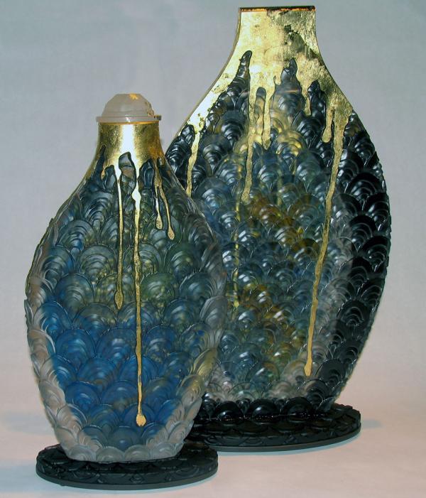 Judith lascola Sandcastle Contemporary Fine Art Glass