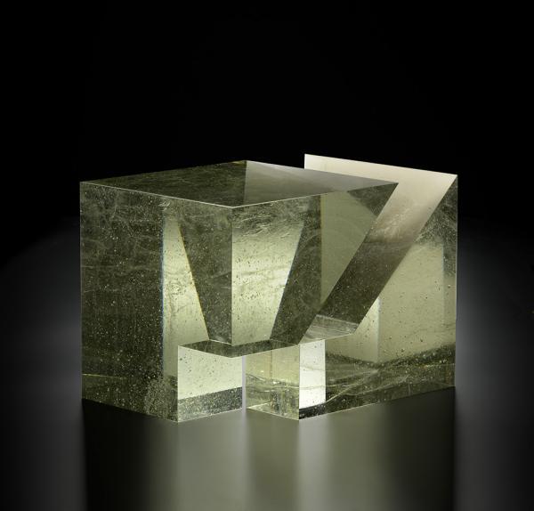 Lybenski Brychtova Cube in Cube Contemporary Fine Art Glass