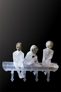Contemporary glass art
